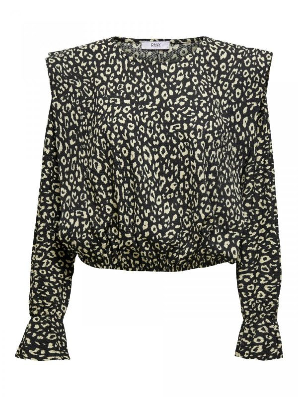 BLUSA ONLY LEOPARDO