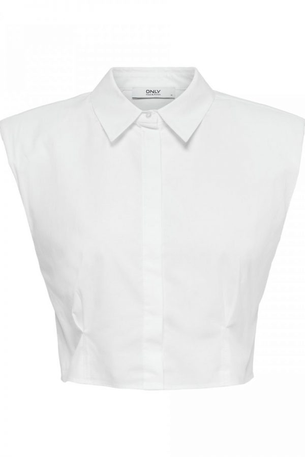 CAMISA ONLY CROPPED BLANCO