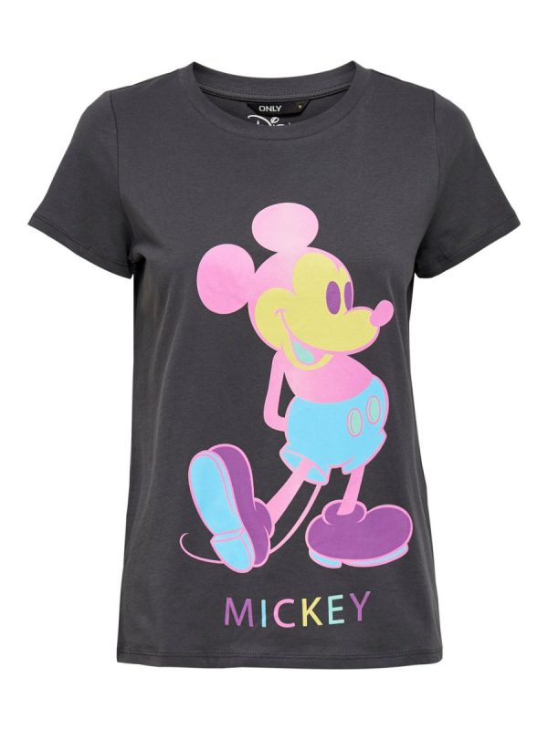 CAMISETA ONLY MICKEY NEGRO
