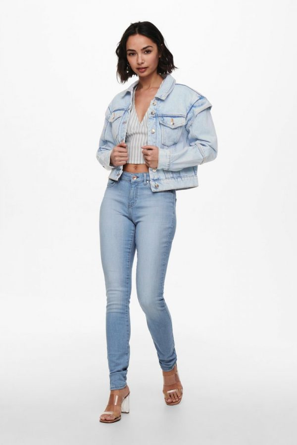 CAZADORA ONLY JEANS CORTA