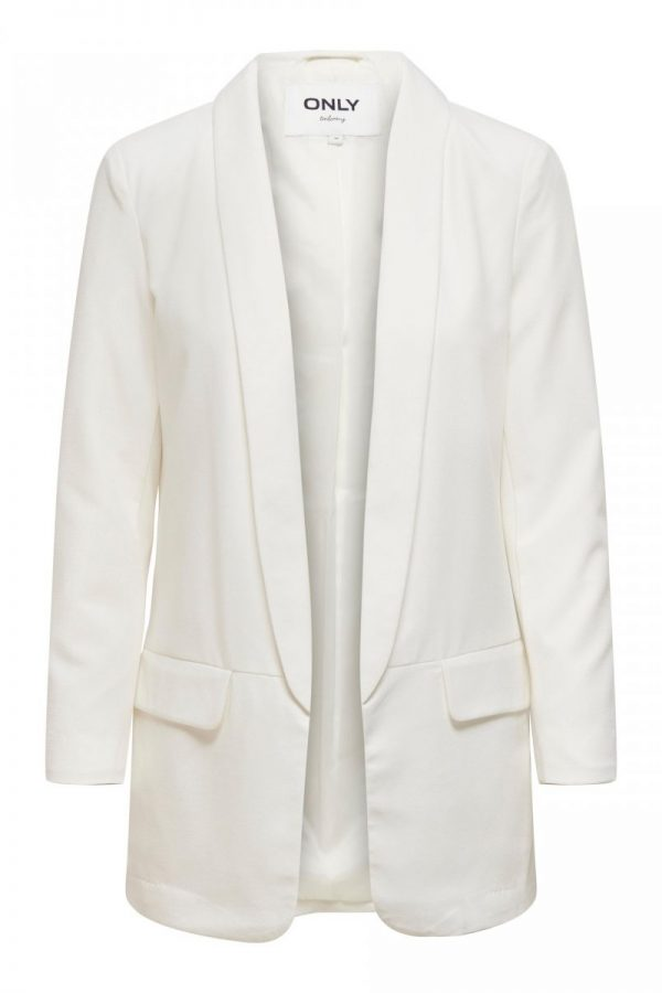 FANCY CHICA BLAZERS ONLY BLANCO