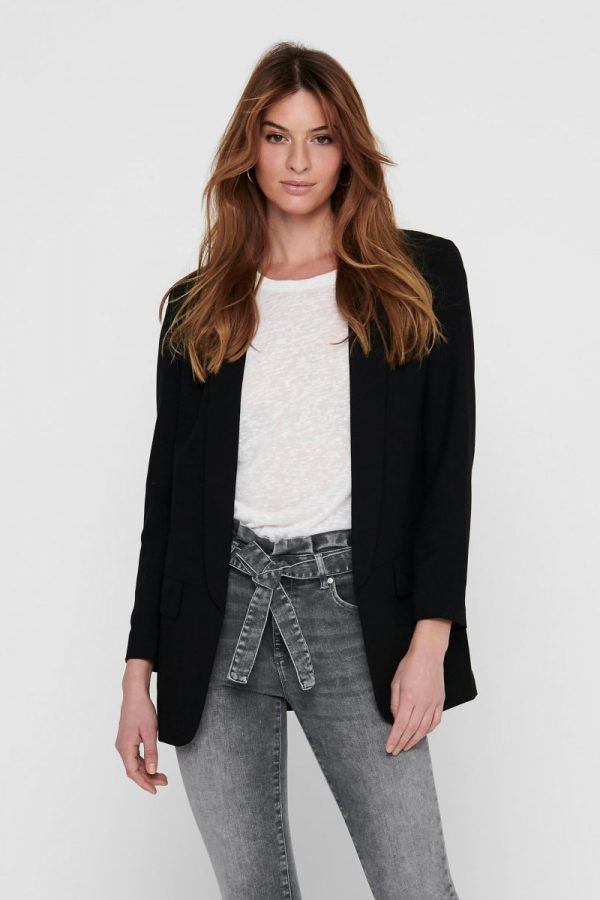 FANCY CHICA BLAZERS ONLY NEGRO