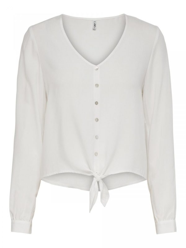 FANCY CHICA BLUSA ONLY BLANCO