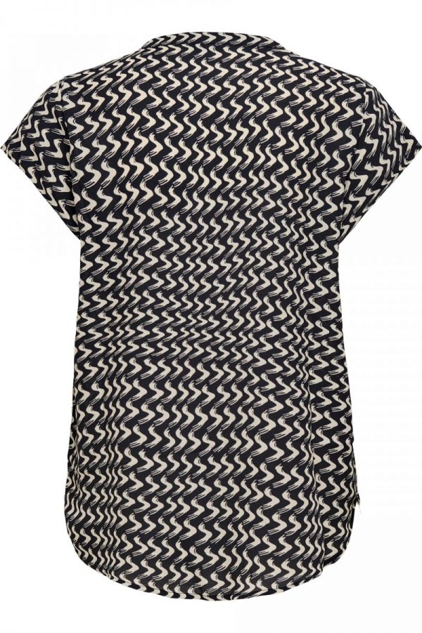 FANCY CHICA BLUSA ONLY GEOMETRICA