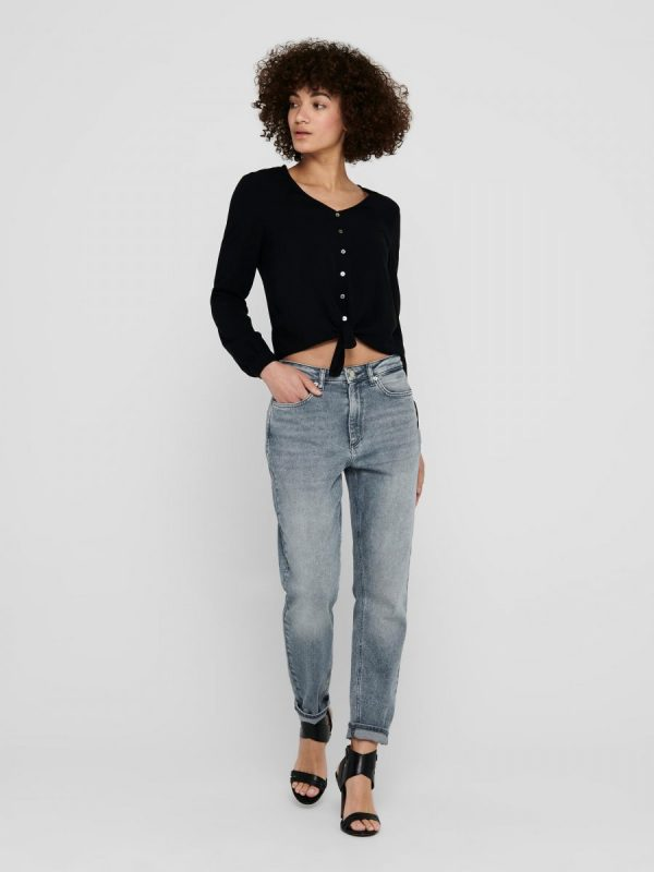 FANCY CHICA BLUSA ONLY NEGRO