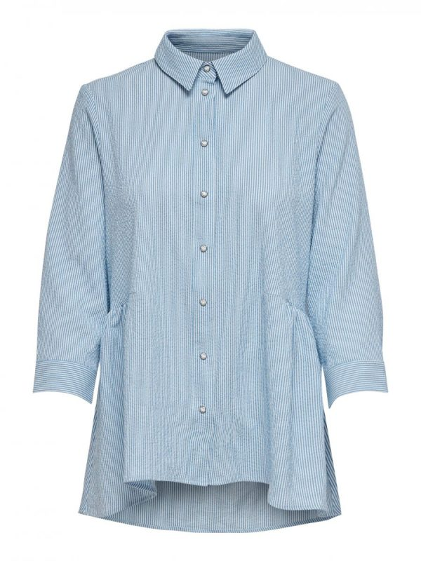 FANCY CHICA CAMISA ONLY AZUL