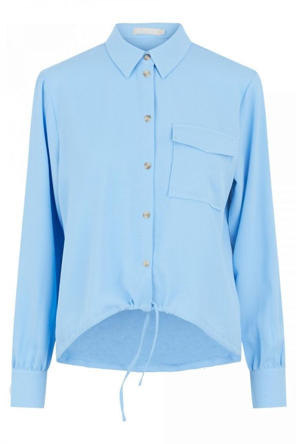 FANCY CHICA CAMISA PIECES AZUL