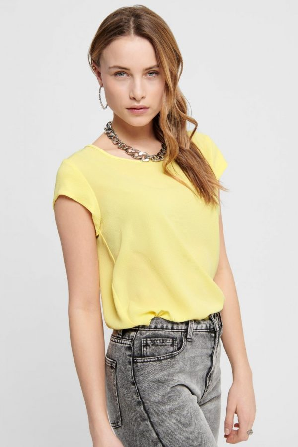 FANCY CHICA CAMISETA ONLY AMARILLO