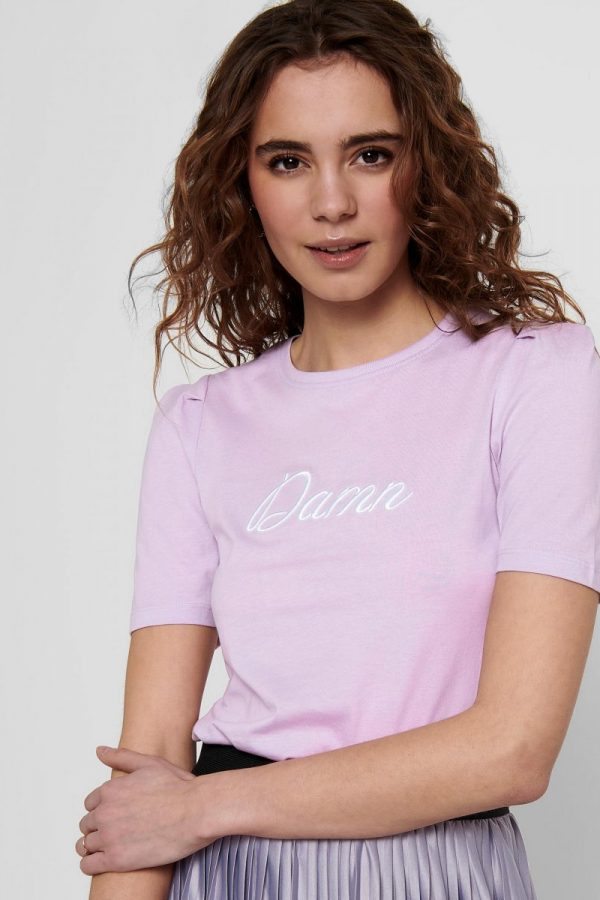 FANCY CHICA CAMISETA ONLY LILA