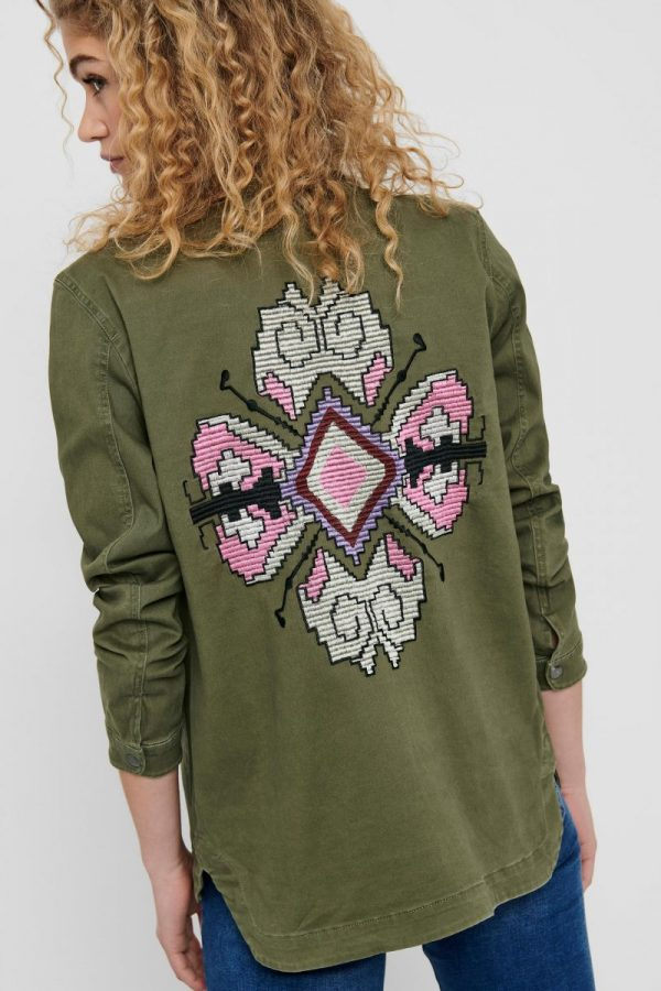 FANCY CHICA CHAQUETA ONLY VERDE