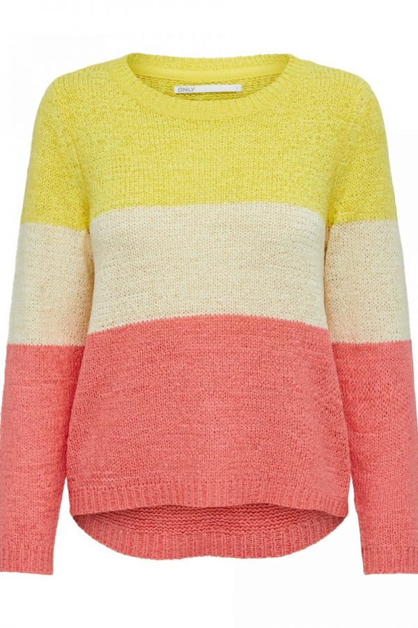 FANCY CHICA JERSEY ONLY RAYAS AMARILLO