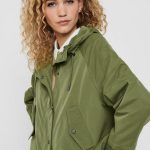 FANCY CHICA PARKA ONLY VERDE