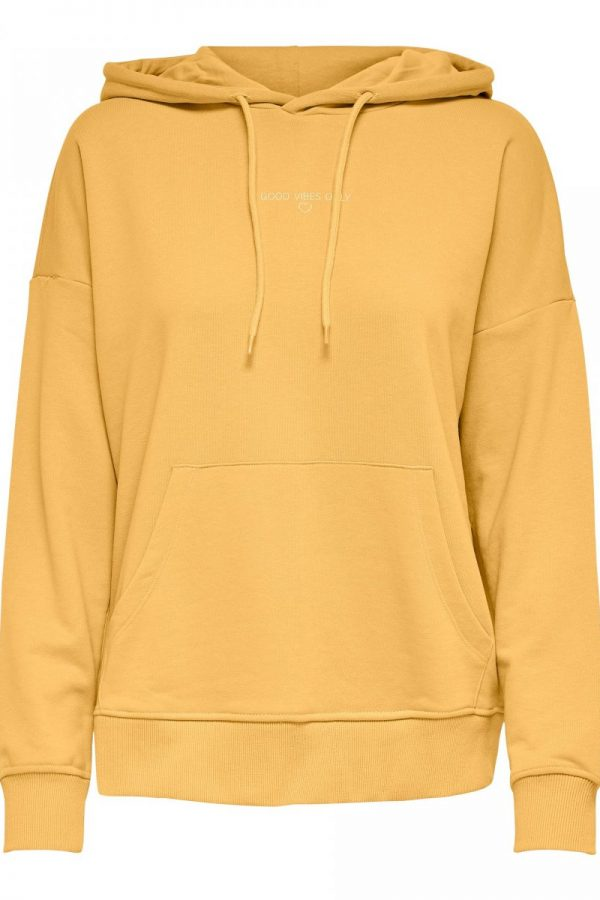 FANCY CHICA SUDADERA ONLY AMARILLO
