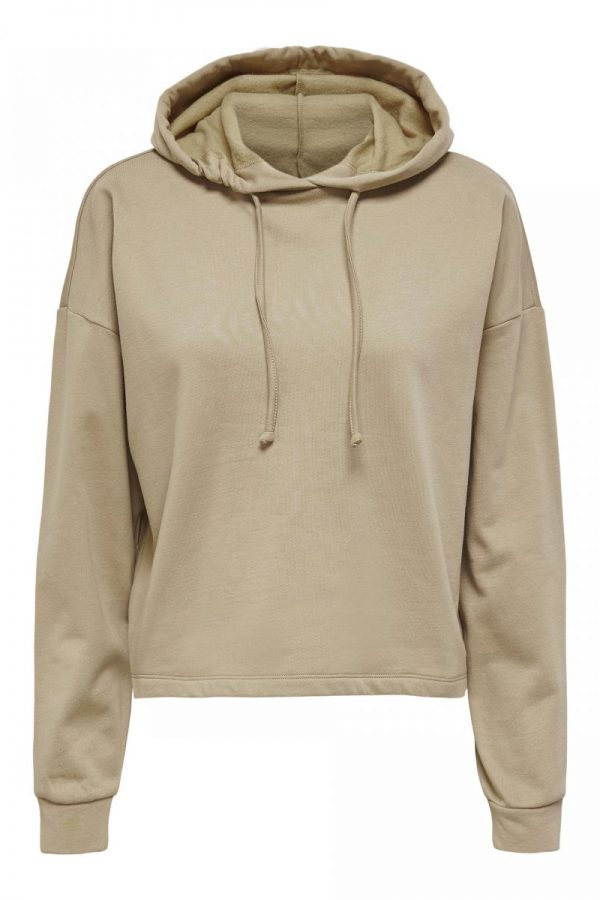 FANCY CHICA SUDADERA ONLY BEIGE
