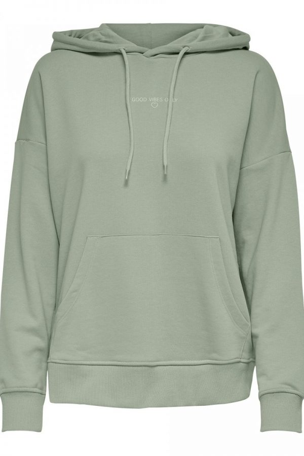 FANCY CHICA SUDADERA ONLY VERDE