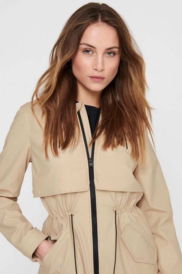 FANCY CHICA TRENCH ONLY BEIGE