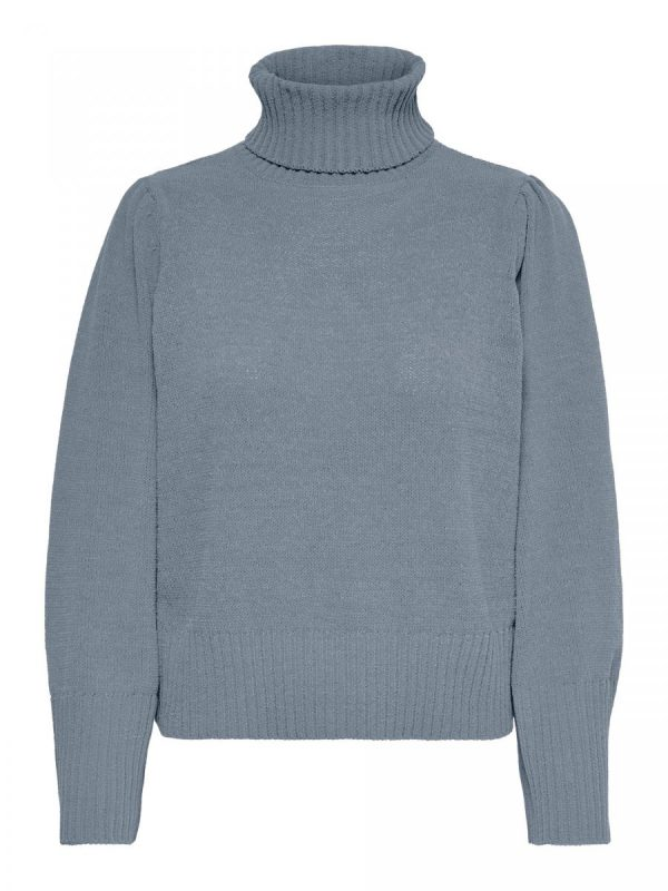 JERSEY ONLY CUELLO VUELTO GRIS