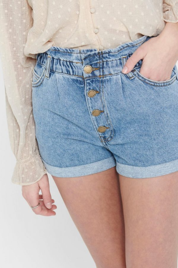SHORT ONLY JEANS CON VUELTA
