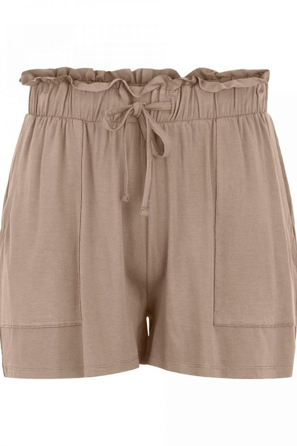 SHORTS PIECES CAMEL