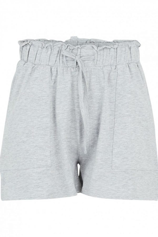 SHORTS PIECES GRIS