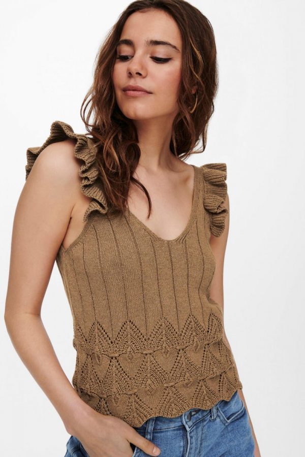 TOP ONLY PUNTO TIRANTE CAMEL
